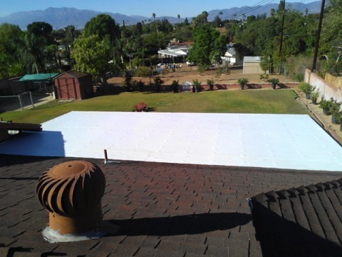 PVC Single Ply Roof, Grand Terrace, Ca